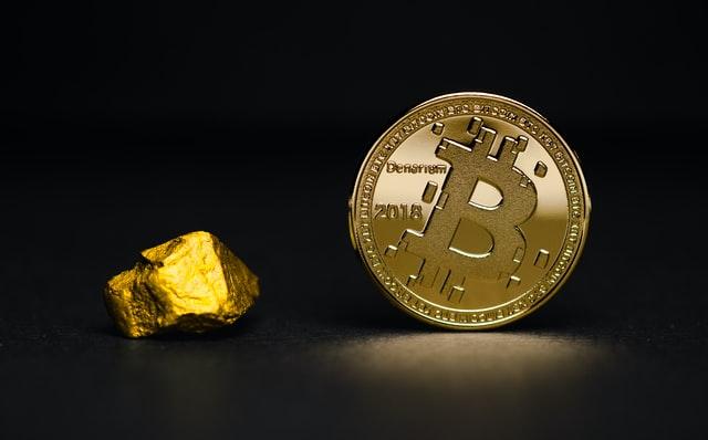 Goud en Bitcoin